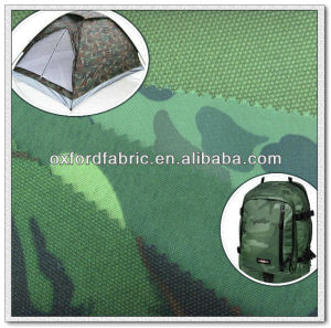 Good qualtity100%polyester camouflage oxford fabric with waterproof tent fabric and good tent material for tent