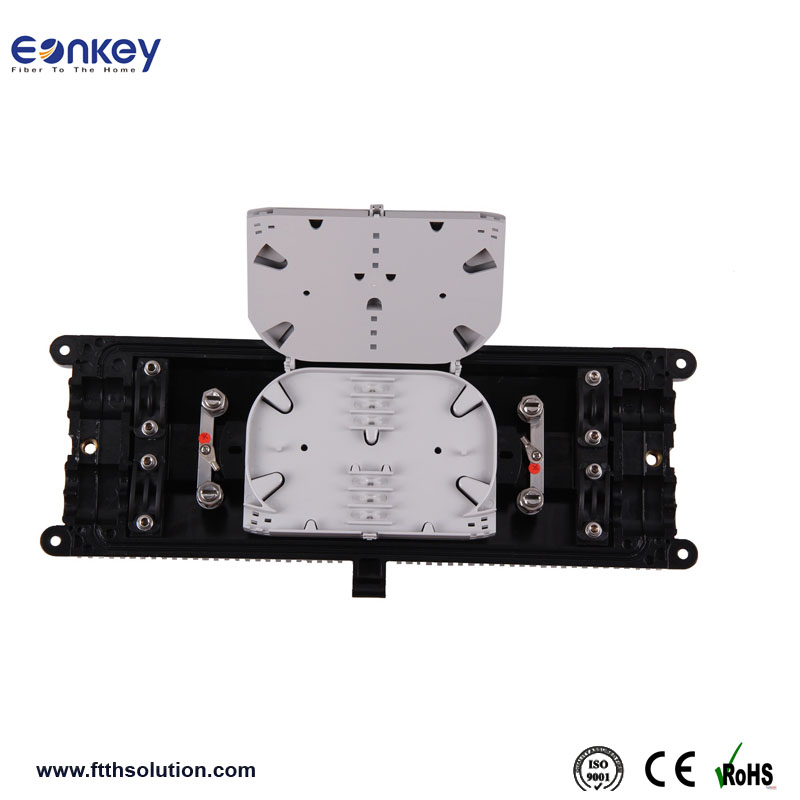 ftth fiber optic cable splice joint closure telecom 6 port Fiber Splicing made in China communication Equipment