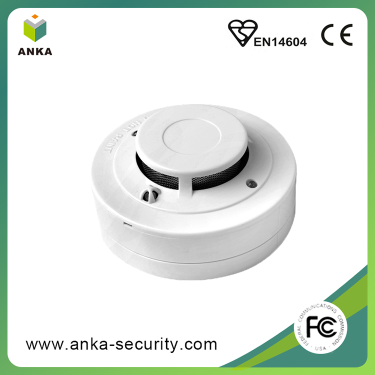 Free sample High accuracy heat and smoke detector with relay output