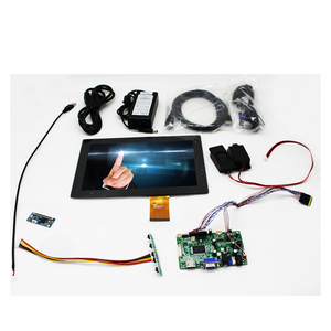 OEM 4mm Vandal Proof Capacitive Touch Screen 10.1 inch TFT LCD Panel Kit