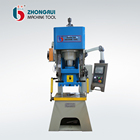 Y14-125T multiple functions hydraulic press for punching hole( round, square ,oblong) ,louver /metal stamping