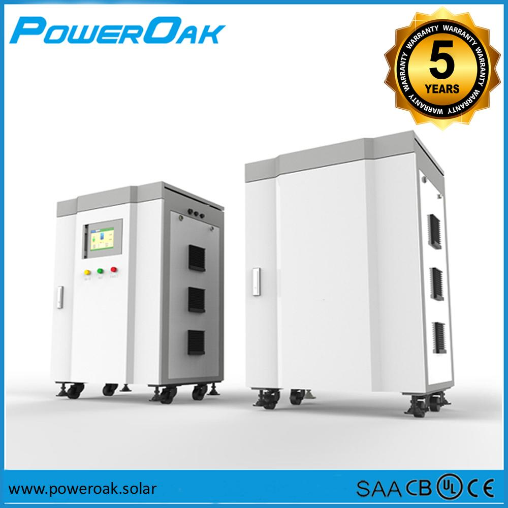 POWEROAK 10KW Three Phase Distributed On-off Micro Grid System for commercial