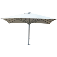 Garden Big aluminium umbrella parasol outdoor sun umbrella 5*5M