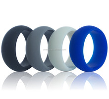 Custom Men's Silicone Ring Set Size from 4 to 16 Soft Silicone O Ring