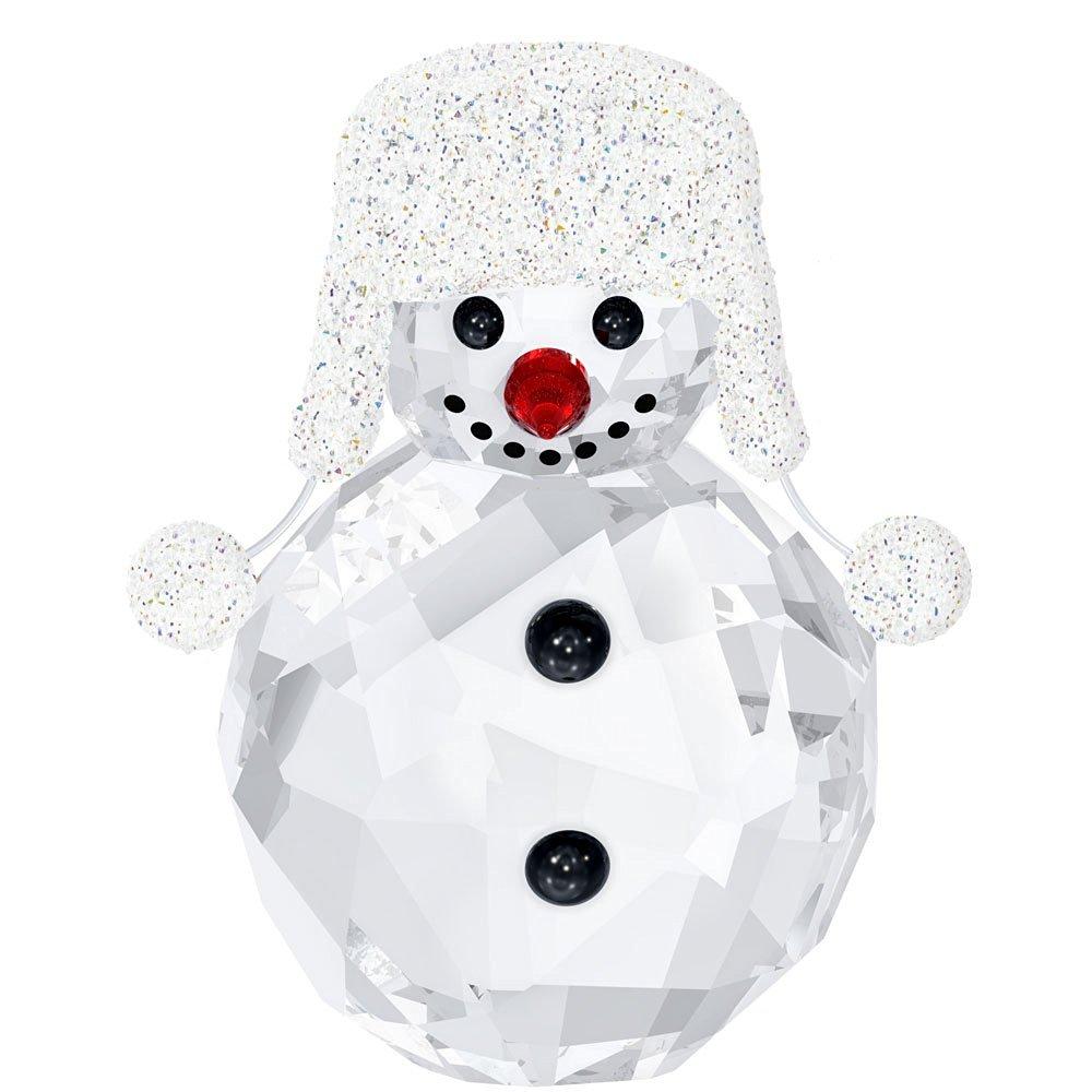 Swarovski Crystal Christmas Figurine SNOWMAN #5004516