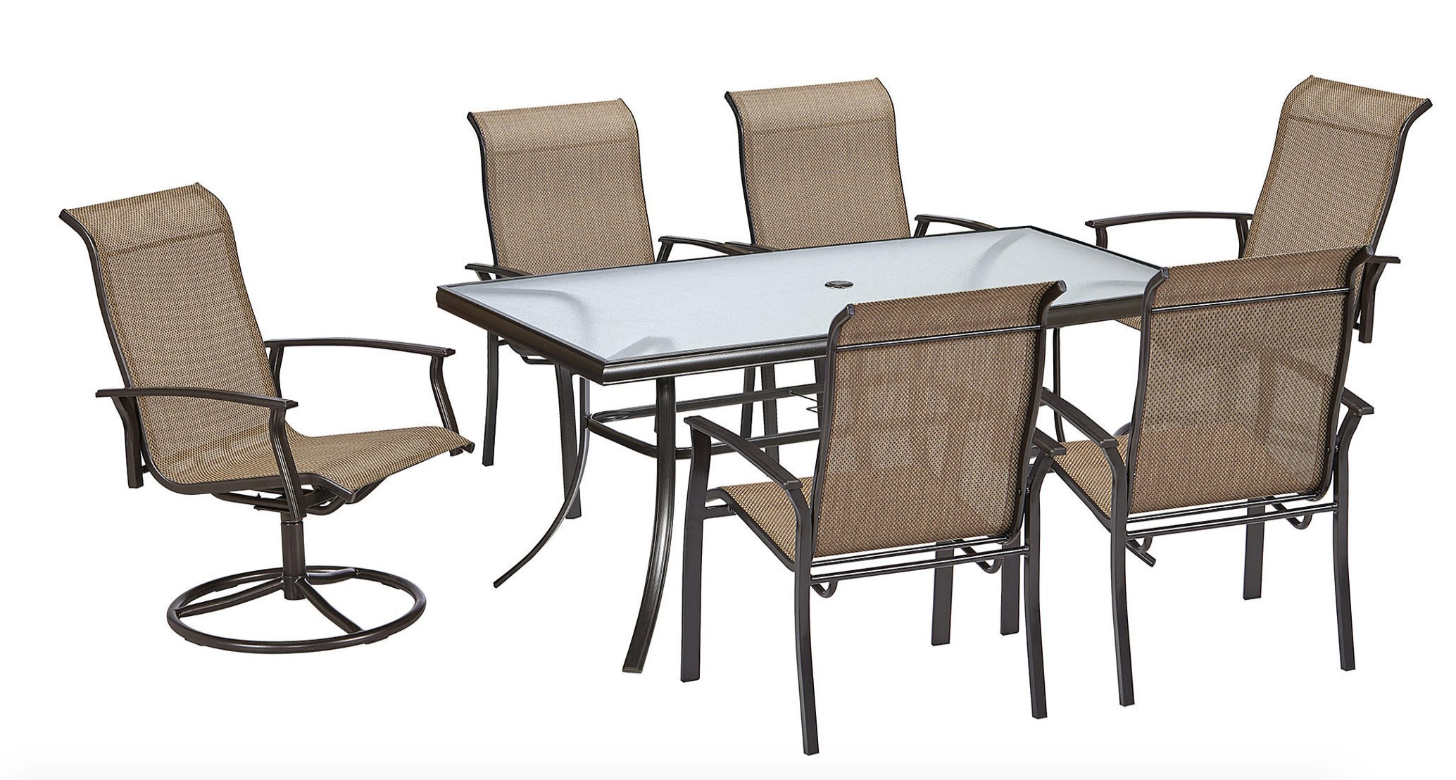 Get Quotations · 7 Piece Dining Set Perfect For Any Outdoor Dining Set  Needs. This Is One Of
