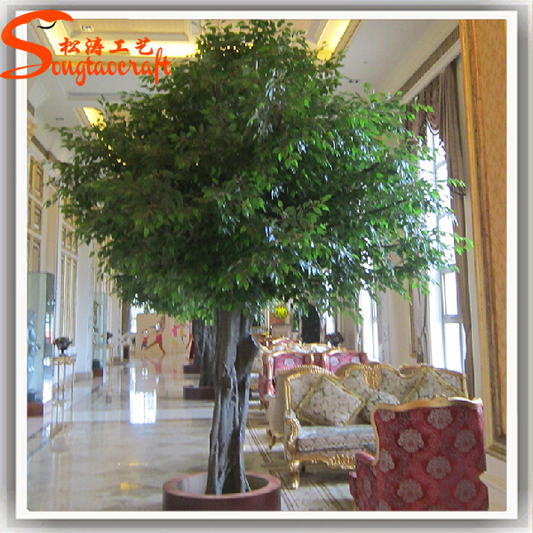 Home Amp Garden Artificial Ficus Tree Indoor No Leaves For Decoration Buy Artificial Oak Tree