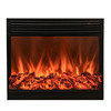 Durable electric insert 1500w fire place wood in the wall