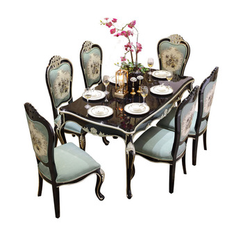 Classic China Cheap Dining Room Furniture Solid Wood Dining Table Sets -  Buy Dining Table Sets,Solid Wood Dining Table Set,Furniture Dining Table  Sets ...