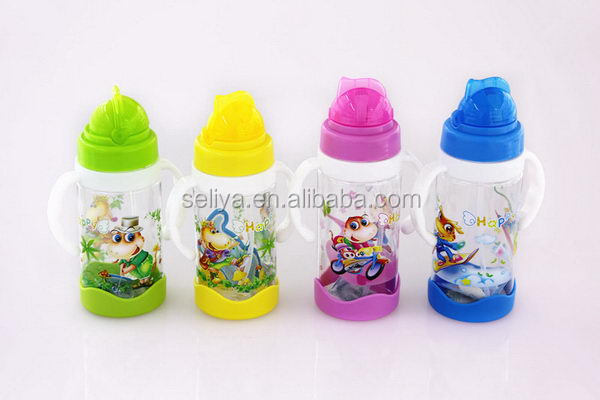 Contemporary new products 3d children water bottle