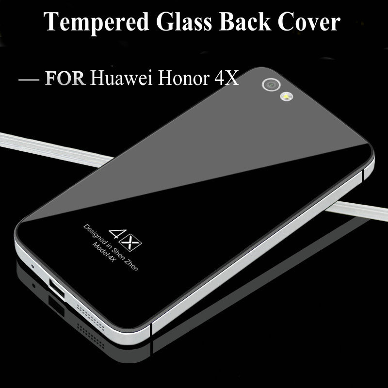 wholesale dealer af250 165cf Huawei Honor 4X case,ER&TO brand Tempered Glass back cover + ...