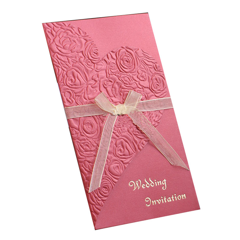 Butterfly Ribbon Design Indian Wedding Cards Invitation - Buy ...