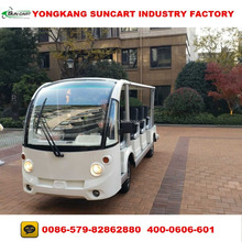 14 Passenger Electric Sightseeing Resort Bus for Tourist
