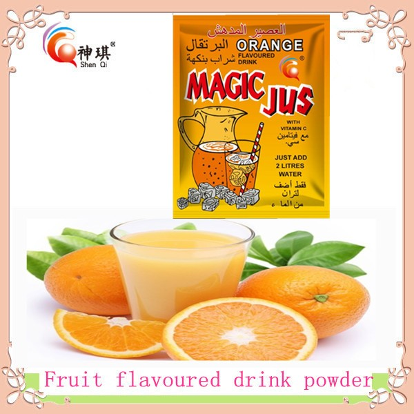HALAL,QS,KOSHER,HACCP,ISO,BRC Certification FRUIT FLAVOURED INSTANT POWDER DRINK