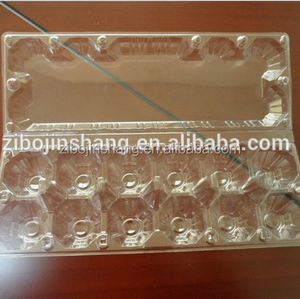 PVC disposable plastic quail egg protective packaging box
