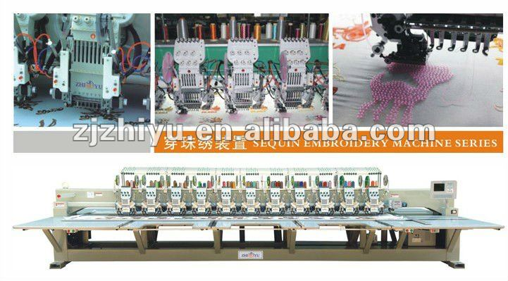 Beads sequin embroidery machine for jiayu brand device