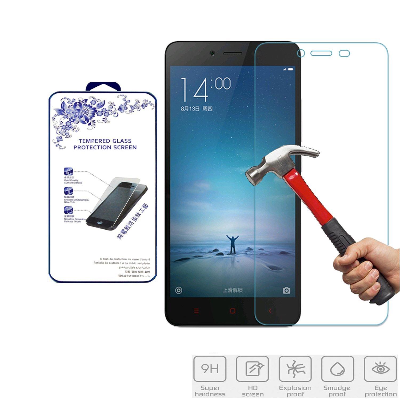 Xiaomi Redmi Note 2 Screen Protector, Nacodex Premium Real Tempered Glass Film Screen Protector (Xiaomi Redmi Note 2)
