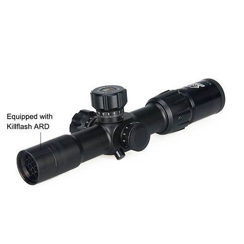 canislatrans military tactical opitcal air 1-4x24IRF rifle scope for hunting