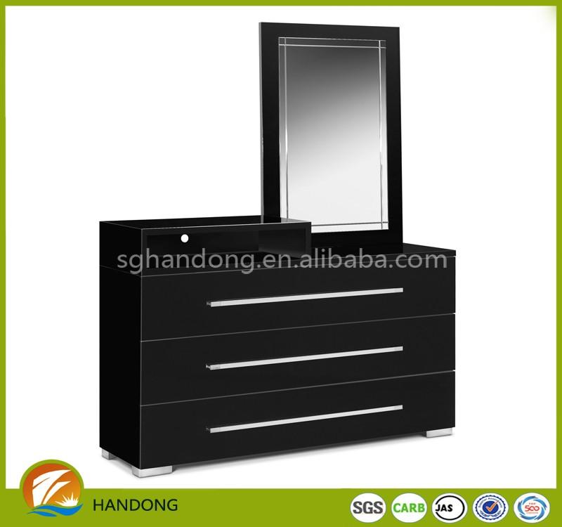 cheap pb mdf black dressing table vanity set dressers for sale buy cheap dressing table. Black Bedroom Furniture Sets. Home Design Ideas