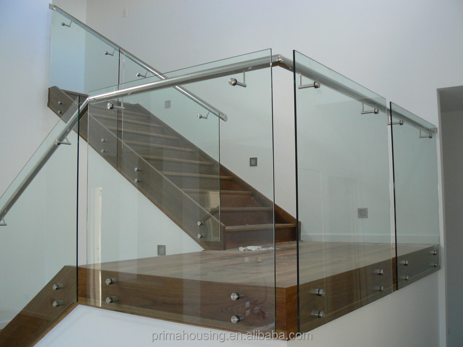 Awesome Custom Ss304u0026316 Stainless Steel Stair Railing, Glass Railing Wood Stair