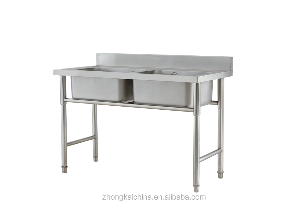 wholesale commercial free standing kitchen stainless steel