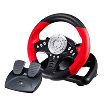 PC game hardware Racing Steering Wheels & pedals with hand brake / Gear Suction / Vbration