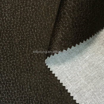 Sofa Fabric Elephant Upholstery 100 Polyester Embossing Texture Laminated Tc Cotton 350gsm