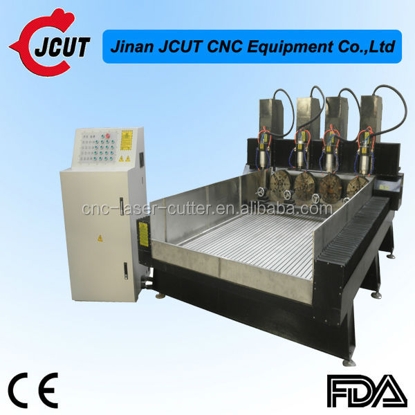 High quality factory price JCUT-1325C-4 CNC multi-head stone engraving/cutting machine for sale