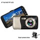 China Factory LCD Dual Lens Camera HD Rear View 1080P Video Car DVR Car Camera Recorder
