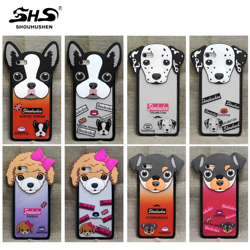 China supplier big dog design hard mobile phone case for iphone 5