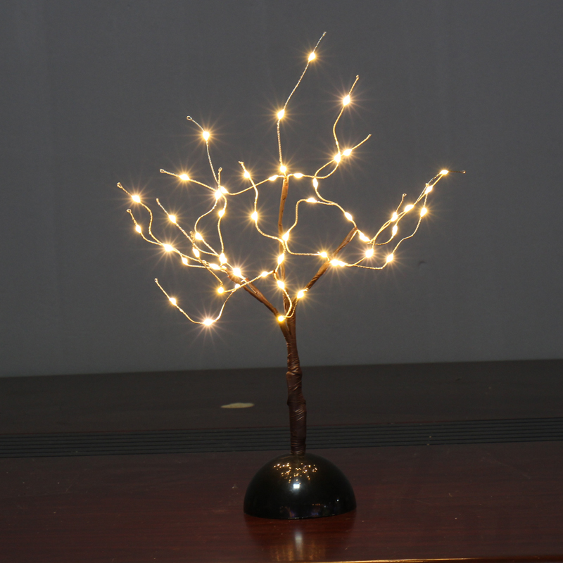 Led Night Lights Lights & Lighting Ed Willow Branch Lamp Floral Lights Holiday Home Christmas Party Garden Decoration Battery Operated Christmas Birthday Gifts #5 Good Reputation Over The World