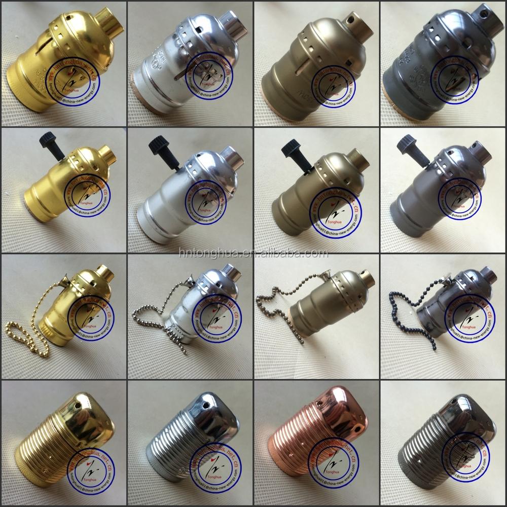 3 Core Vitange Lamp Holder With Ring For Uk