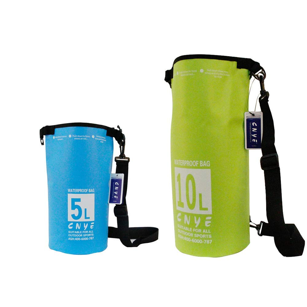 Get Quotations · CNYE Floating Waterproof Dry Bag 5L 10L Roll Top Sack  Keeps Gear Dry for Kayaking d43b611fd9786