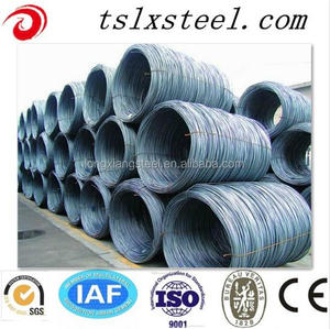 very cheap Electro Galvanized MS Steel Wire Rod Coils wire rod steel coil