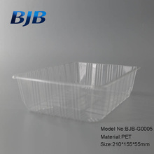 PET PP disposable clear transparent cake plastic food container box packaging