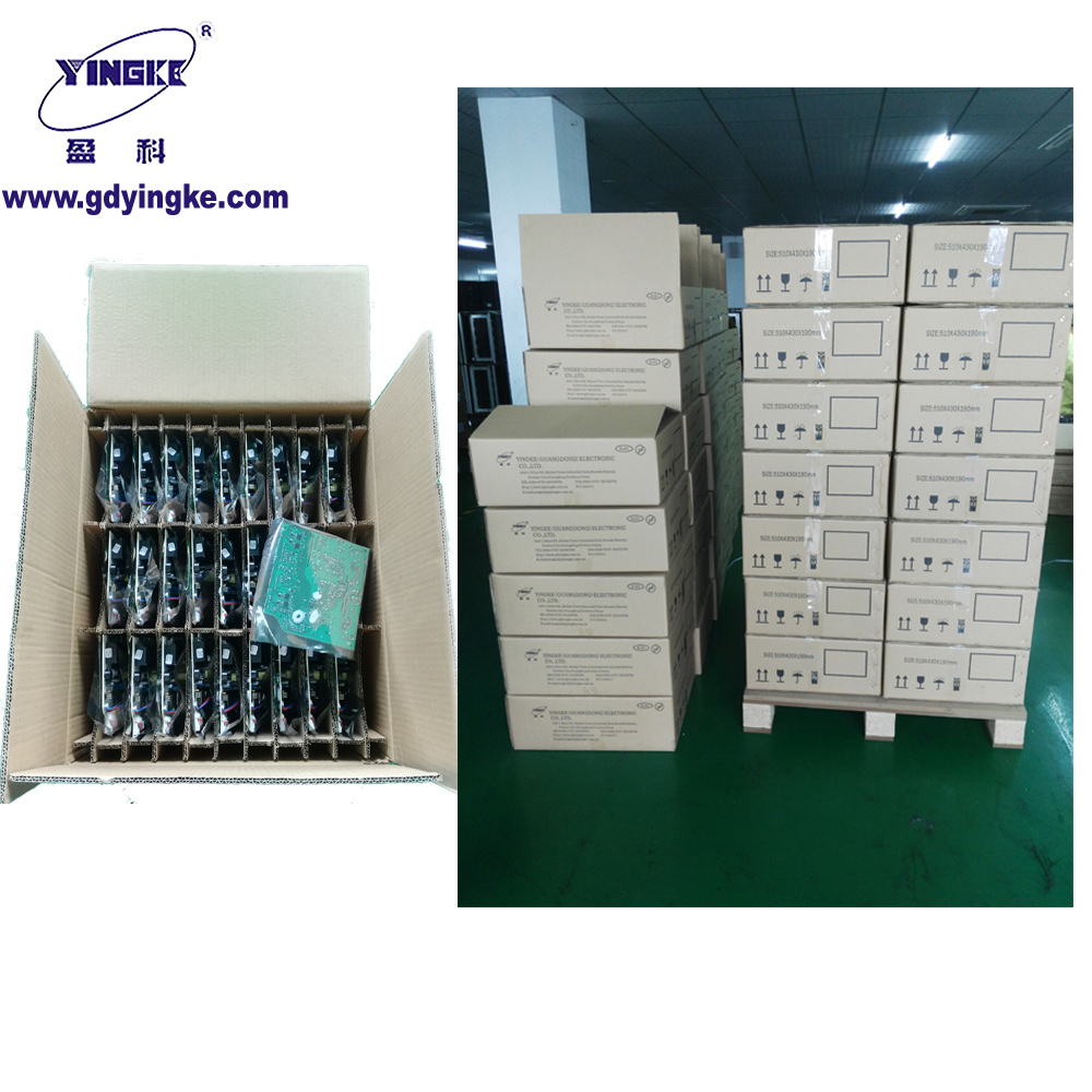 Thermostat pcb assembly for oven double sided pcb