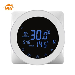 touch screen programmable wifi room thermostat for water radiator heating system