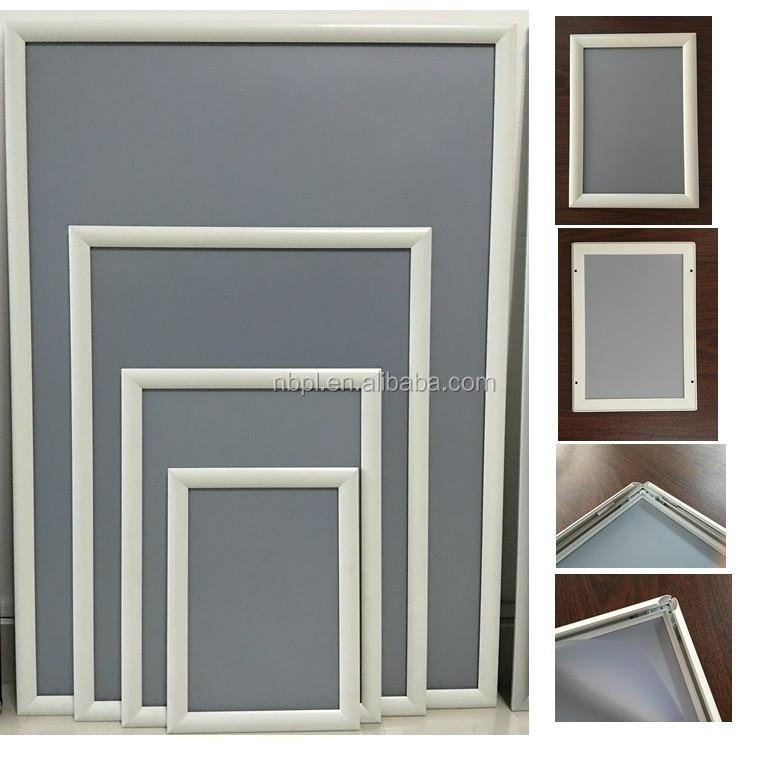 Aluminium Rechteck Wand Rahmen B2 Poster Anzeigetafel,Weiß Clip ...