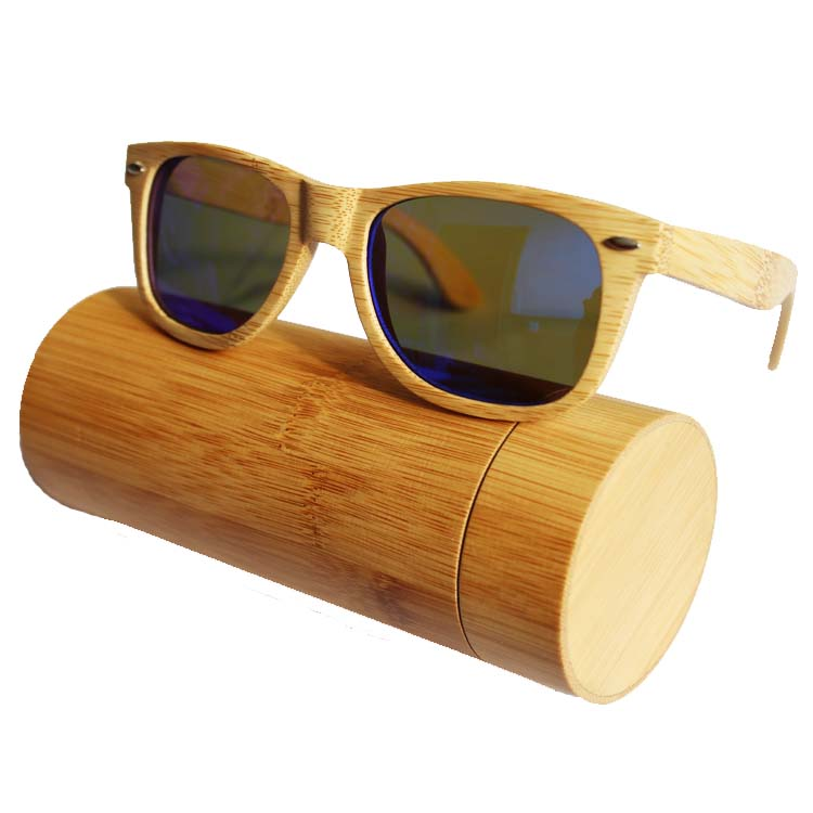 2017 Custom Your Own Logo Polarized Wooden Temple Sunglasses Handmade Sunglasses Bamboo