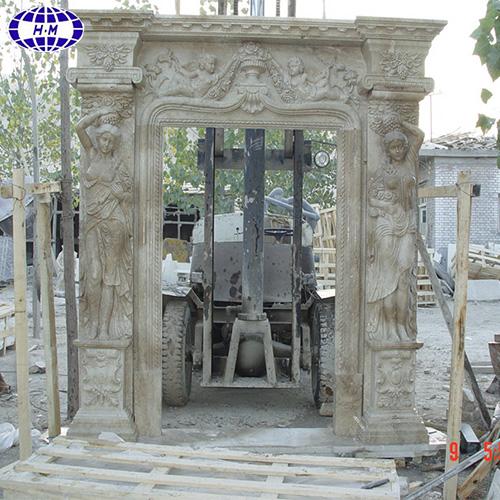 Decorative Sandstone Main Door Frame Design