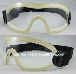 clear goggles for horse racing
