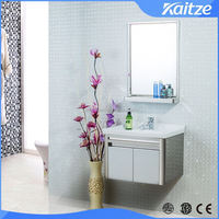 malaysia market target bathroom vanity with ceramic basin