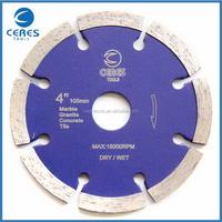 China supplier excellent quality rim diamond sawmills band saw blade
