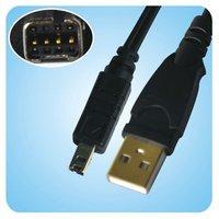 NEW USB 2.0 8 Pin Cable for Konica Minolta DiMAGE & Casio Exilim Digital Camera