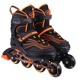 2018 latest model OEM ODM Wholesale high quality PU 4 wheels Adjustable 100% Aluminium frame speed inline roller skates shoes