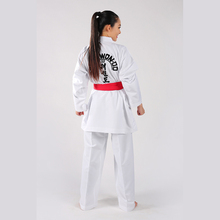 Simple écologique écologique de conception internationale costume de taekwondo
