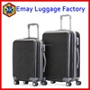High quality spinner abs pc trolley travel time zipper hard luggage