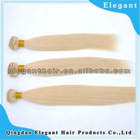 100% Indian human hair weft ,silky straight light color with top quality