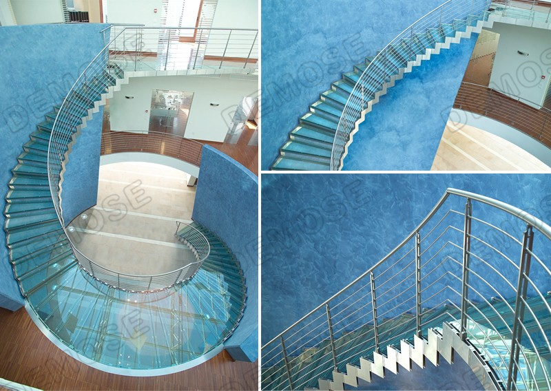 Home Lift Indoor Prefabricated Glass Stairs Prices Buy