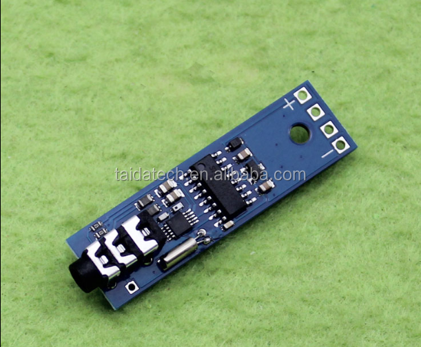 Taidacent Wireless Audio Transmission 76-108 Mhz FM Radio Receiver Module Power Down Memory FM Stereo Radio Module